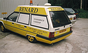 BX Ambulance of Garage Renard